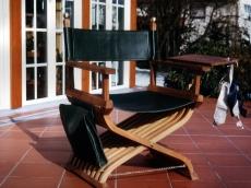 Möbeldesign: Regiestuhl